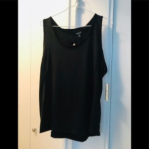 NWT black OLD NAVY Active tank top XL
